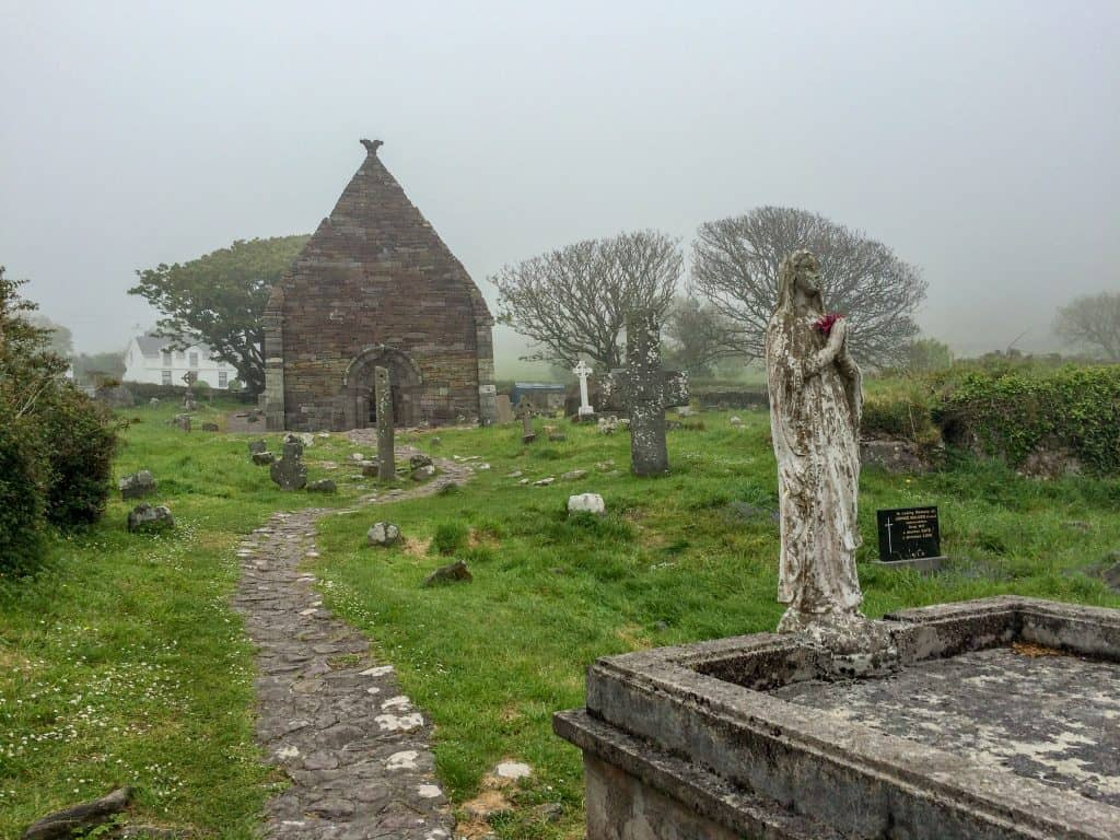 Kilmalkader Church in Dingle