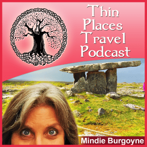 Thin Places Travel Podcast logo